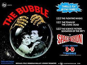 The Bubble (1966 film) - British quad poster