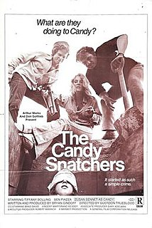 <i>The Candy Snatchers</i> American exploitation crime cult film