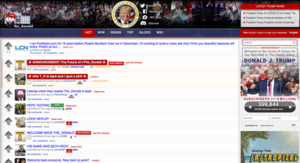 /r/The Donald - Image: The Donald Frontpage