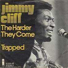 The Harder They Come by Jimmy Cliff 1972 front cover German Spain single.jpg