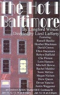 Play written by Lanford Wilson