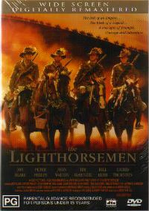 The Lighthorsemen (film) - DVD box art