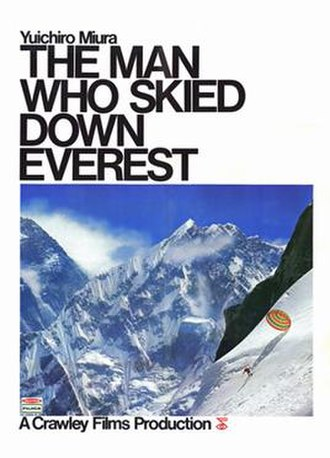 The Man Who Skied Down Everest - Theatrical release poster