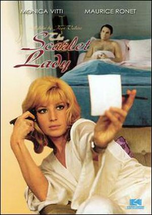 The Scarlet Lady (1969 film) - DVD cover