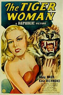<i>The Tiger Woman</i> (1945 film) 1945 film by Philip Ford