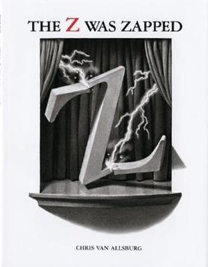 The Z Was Zapped - Image: The Z Was Zapped (Chris Van Allsburg book) cover art