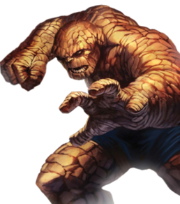 Thing (comics) Fictional character appearing in American comic books published by Marvel Comics