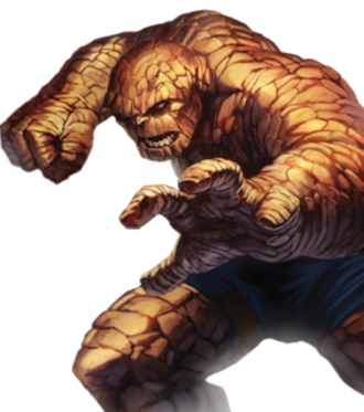 Thing (comics) - Image: Thing Dark Reign Fantastic Four