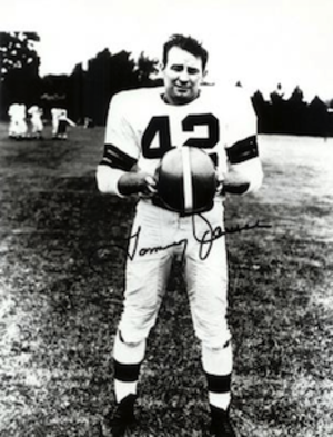 Tommy James (American football) - James during his Cleveland Browns career