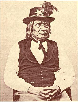 Tosahwi - Image: Tosawi Penateka Comanche Chief