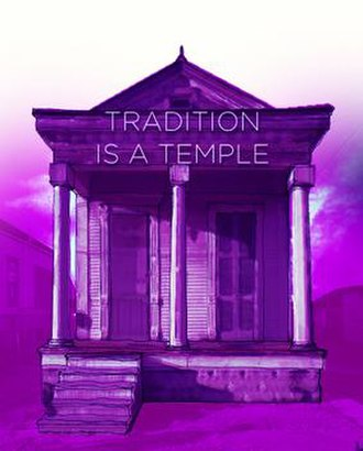 Tradition Is a Temple - Theatrical poster