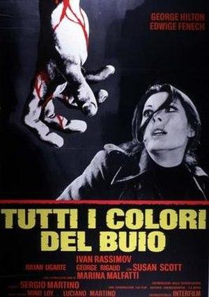 All the Colors of the Dark - Image: Tutti i colori del buio italian movie poster md