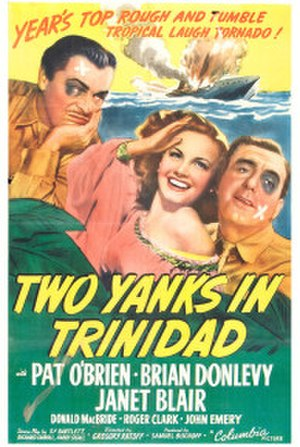 Two Yanks in Trinidad - Theatrical release poster