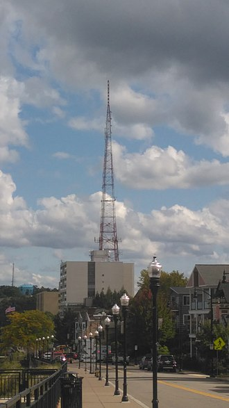 WESA (FM) - WESA-FM's Tower atop Mount Washington