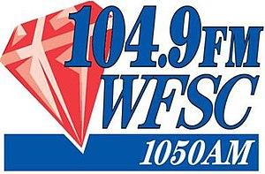 WFSC - Image: WFSC 104.9WFSC1050 logo