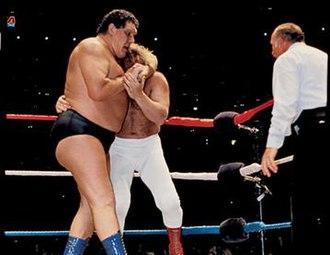 WrestleMania I - André the Giant vs. Big John Studd