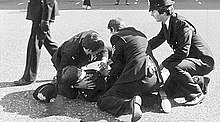 WPC Yvonne Fletcher shortly after being shot.jpg