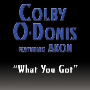 What You Got (Colby O'Donis song) - Image: What You Got (Single)