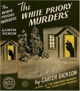 <i>The White Priory Murders</i> book by John Dickson Carr