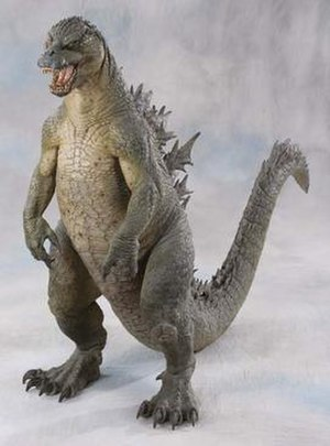 Godzilla (1998 film) - Stan Winston created a design that was faithful to Toho's Godzilla design.