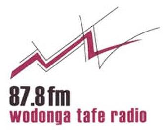 Wodonga TAFE Radio - Image: Wodongataferadiologo