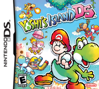 Yoshi's Island DS - North American box art