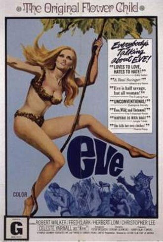 Eve (1968 film) - Theatrical release poster