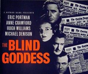 The Blind Goddess (1948 film) - British pressbook