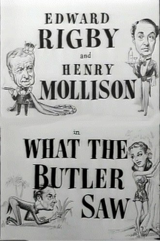 """What the Butler Saw (1950 film) - Image: """"What the Butler Saw"""" (1950)"""
