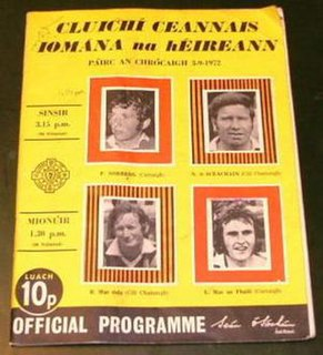 1972 All-Ireland Senior Hurling Championship Final