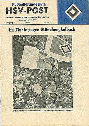 1973 DFB-Ligapokal Final - Image: 1973 DFB Ligapokal Final programme