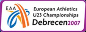 2007 European Athletics U23 Championships - Image: 2007 European Athletics U23 Championships logo