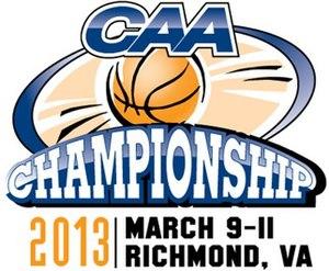 2013 CAA Men's Basketball Tournament - Tournament Logo