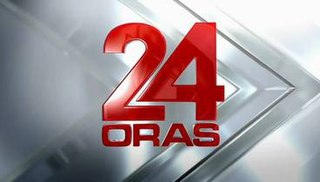 <i>24 Oras</i> Philippine television show