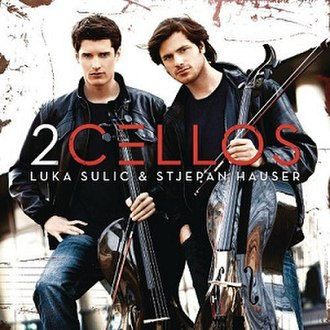 2Cellos (album) - Image: 2Cellos album cover
