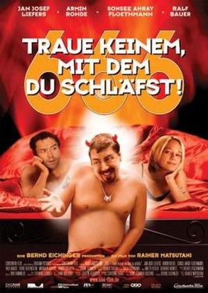 666 – Traue keinem, mit dem du schläfst! - German poster