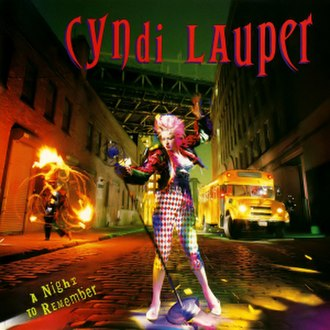 A Night to Remember (Cyndi Lauper album) - Image: A Night to Remember (album cover)