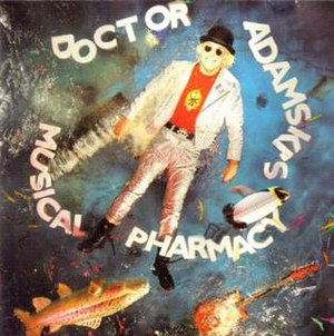 Doctor Adamski's Musical Pharmacy - Image: Adamski Doctor Adamski's Musical Pharmacy album cover