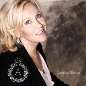 A (Agnetha Fältskog album) - Image: Agnetha A Cover