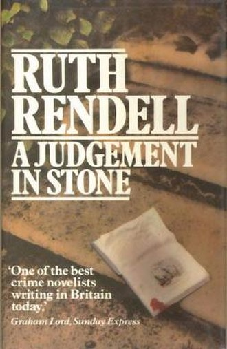 A Judgement in Stone - First edition (UK)