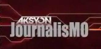 Aksyon JournalisMO - Image: Aksyon journalismo