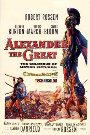 Alexander the Great (1956 film) - Theatrical release poster