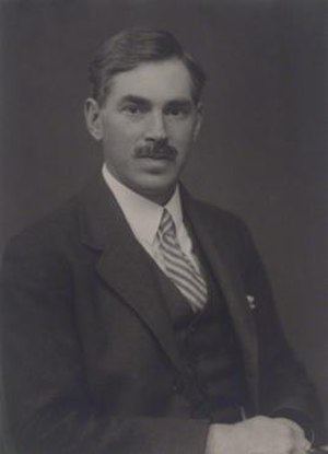 Alfred Charles Glyn Egerton - 1932 portrait by Walter Stoneman