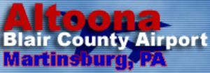 Altoona–Blair County Airport - Image: Altoona Blair County Airport (logo)