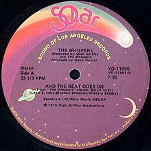 And the Beat Goes On by The Whispers 12-inch US vinyl.jpg