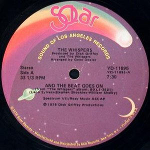 And the Beat Goes On (The Whispers song) - Image: And the Beat Goes On by The Whispers 12 inch US vinyl