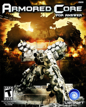 Armored Core: For Answer - North American cover art