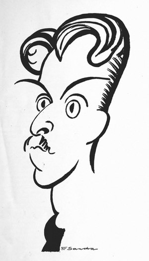 Arthur Bliss - Bliss, caricatured in 1921 by F. Sancha