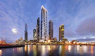 One Queensbridge proposed skyscraper in Melbourne