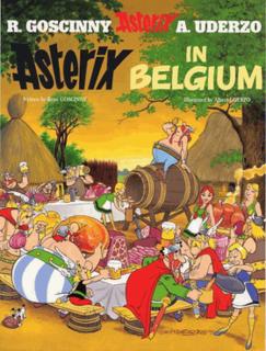 <i>Asterix in Belgium</i> comic book album
